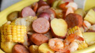 Cajun Shrimp Boil in the Air Fryer