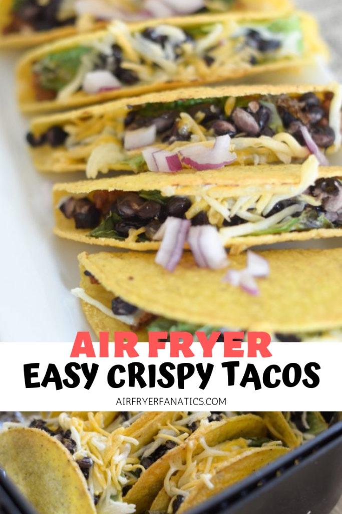 Air Fryer Crispy Tacos