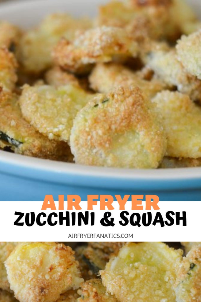 Air Fryer Zucchini and Squash