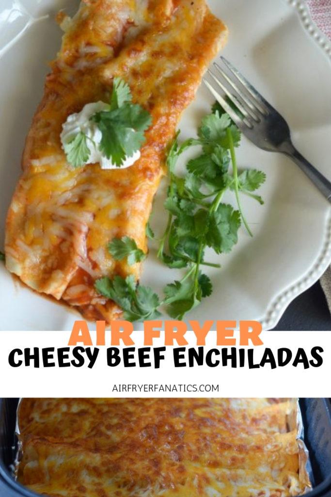 air fryer enchiladas