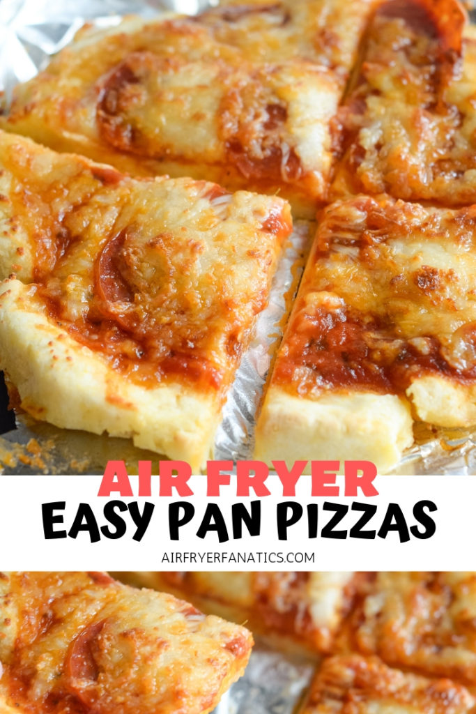 air fryer pan pizzas