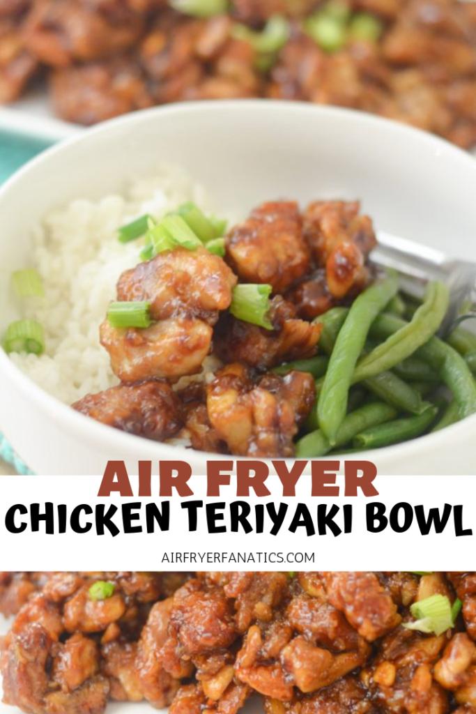 Air Fryer Chicken Teriyaki Bowl