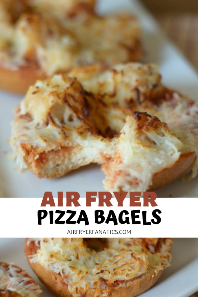 Air Fryer Pizza Bagels