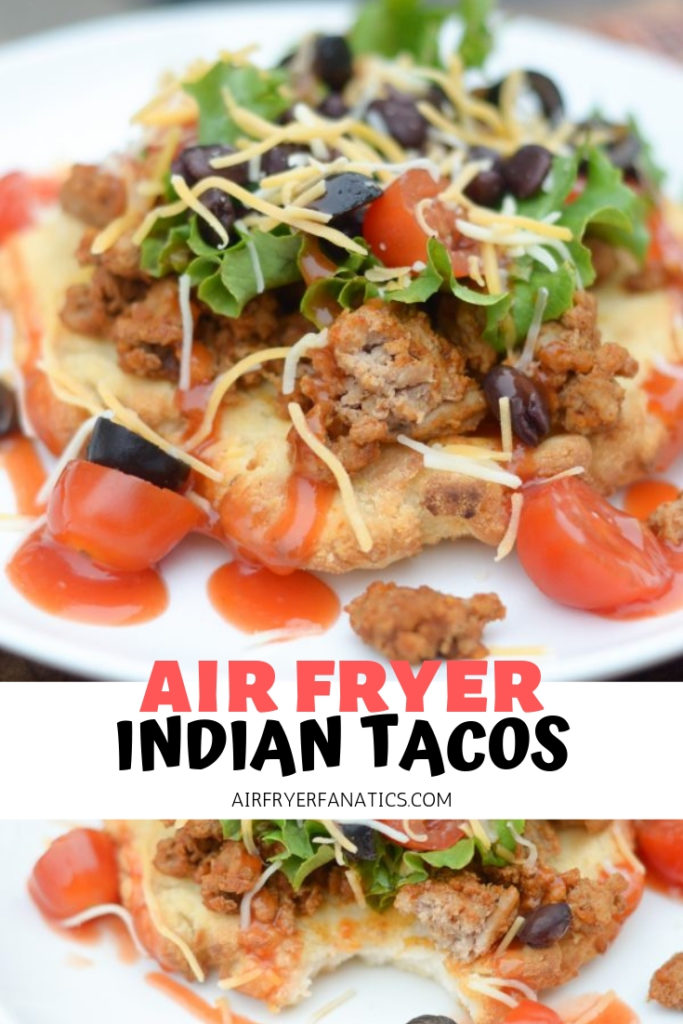 GLUTEN-FREE AIR FRYER INDIAN TACOS
