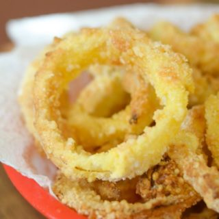Gluten-Free Air Fryer Onion Rings