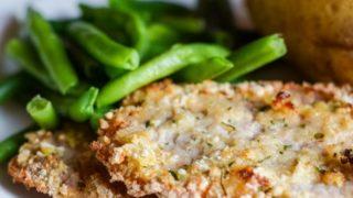 Gluten-Free Air Fryer Ranch Breaded Pork Chops