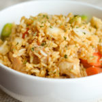 Gluten Free Air Fryer Chicken Fried Rice