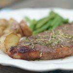 Gluten Free Air Fryer Glazed Steaks