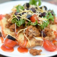 Gluten Free Air Fryer Indian Tacos