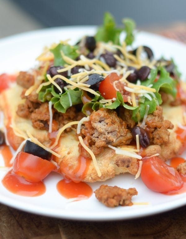 air fryer indian tacos
