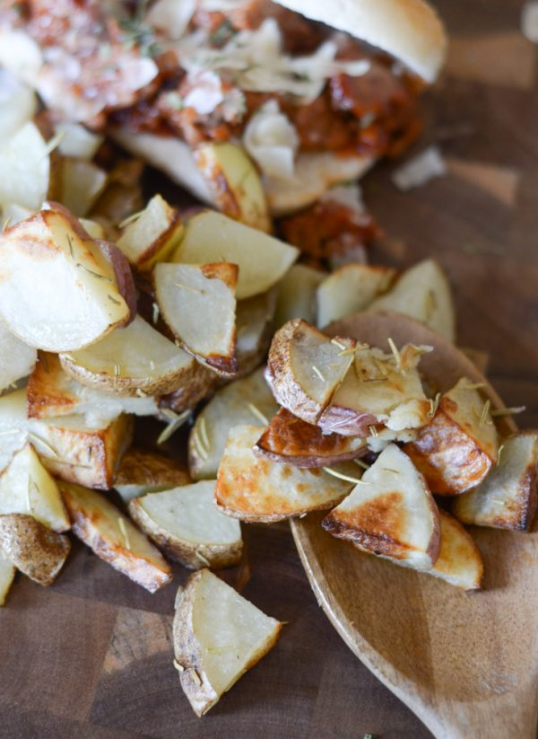 air fried roasted potatoes