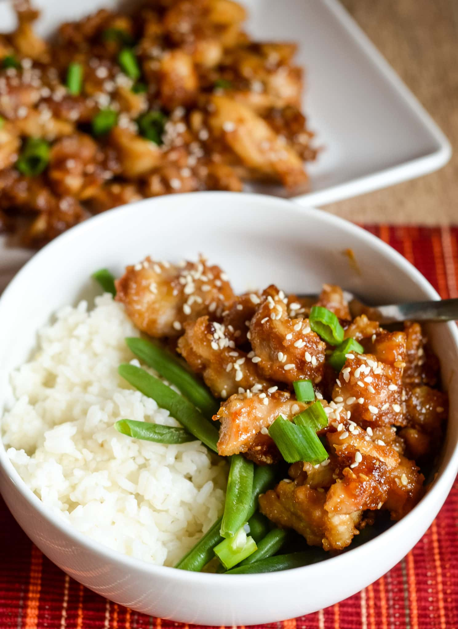 Air Fryer Sesame Chicken Air Fryer Fanatics
