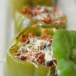 Air Fryer Stuffed Peppers