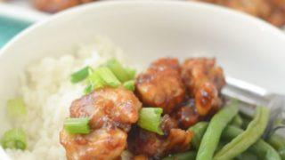 Air Fryer Chicken Teriyaki Bowls