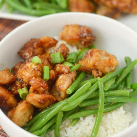 Air Fryer Honey Garlic Chicken