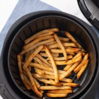 Air Fryer Frozen French Fries CRISPY EASY