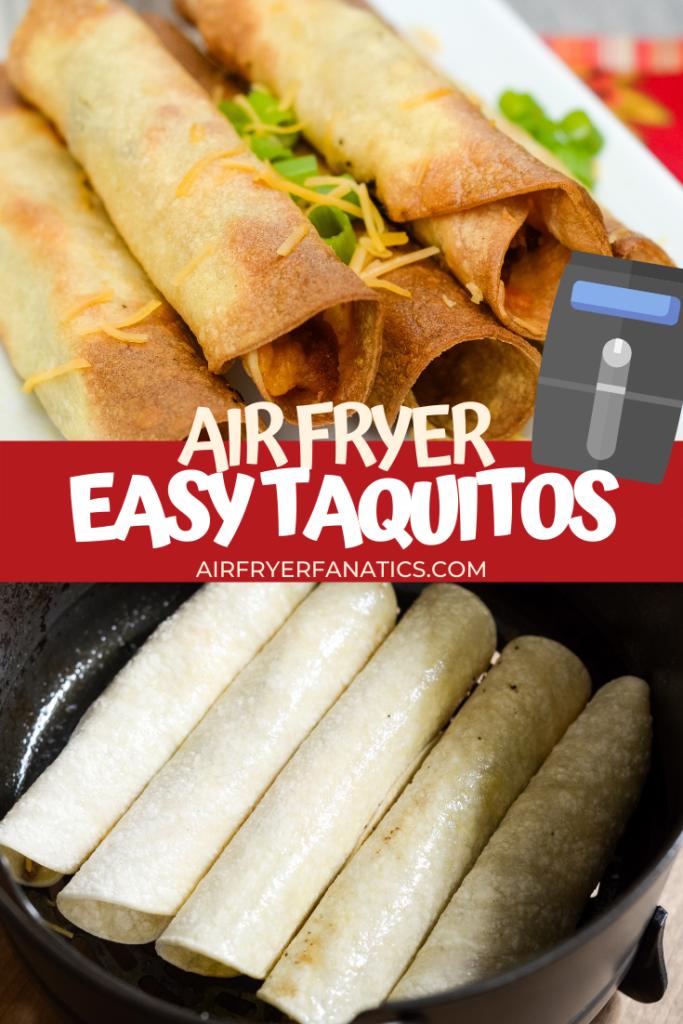air fryer taquitos