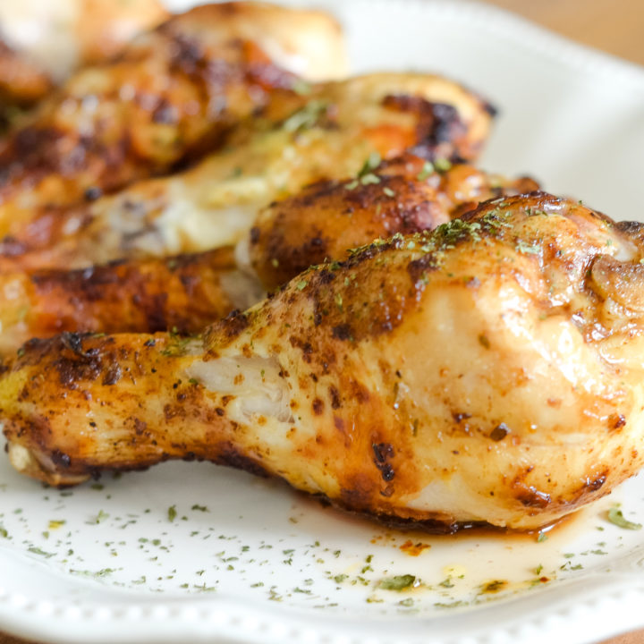 Air Fryer Seasoned Chicken Drumsticks