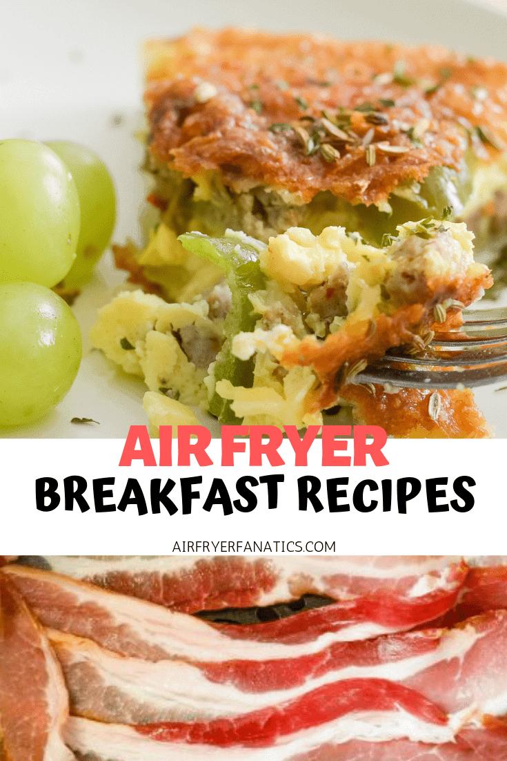 air fryer breakfast recipes