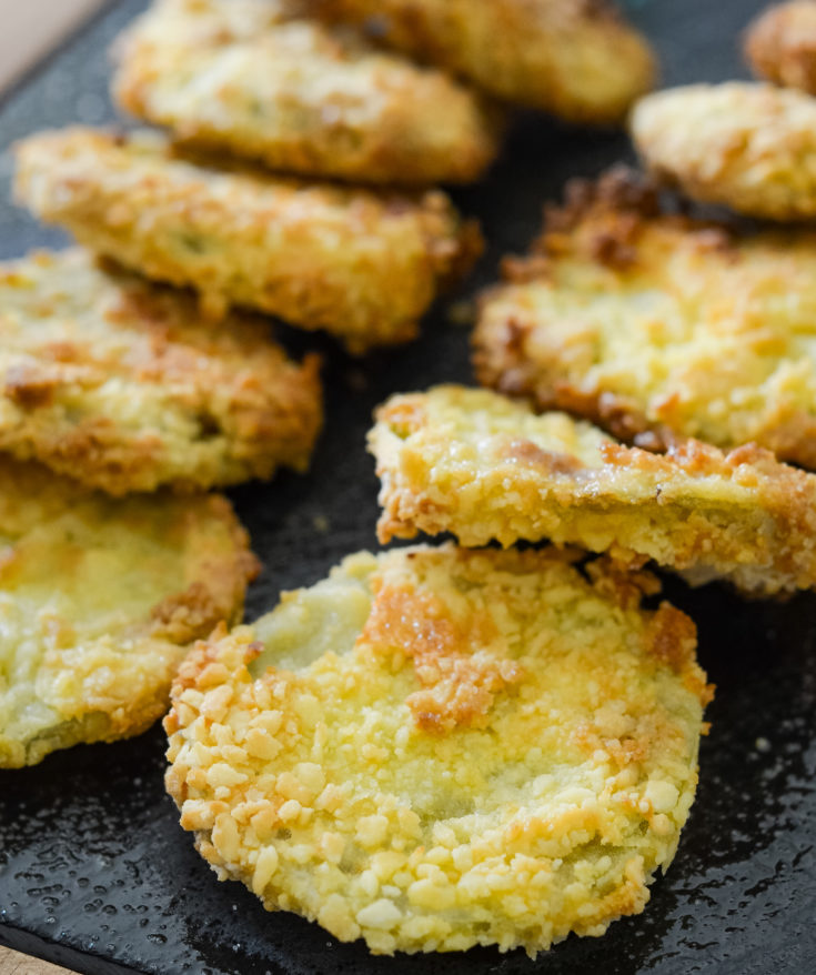 Air Fryer Fried Green Tomatoes (Gluten-Free)