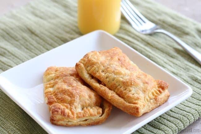 Quick Air Fryer Breakfast Pockets - Hand Held Hot Breakfast Recipe!