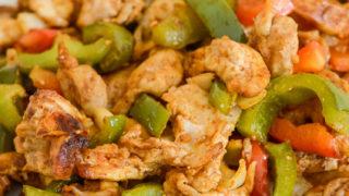 Air Fryer Chicken Fajitas {Ninja Foodi Recipe}