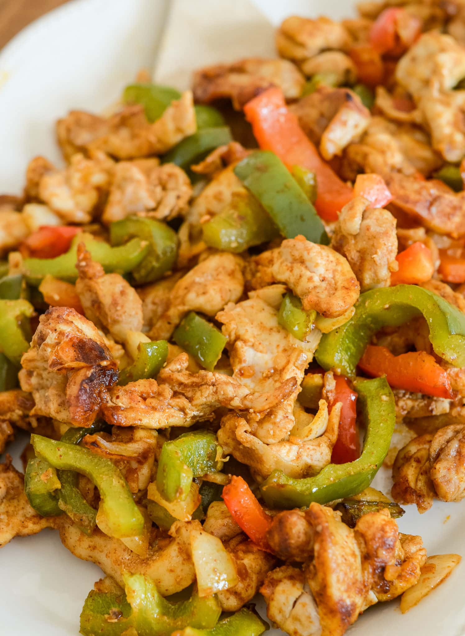 Air Fryer Chicken Fajitas Ninja Foodi Recipe Air Fryer Fanatics
