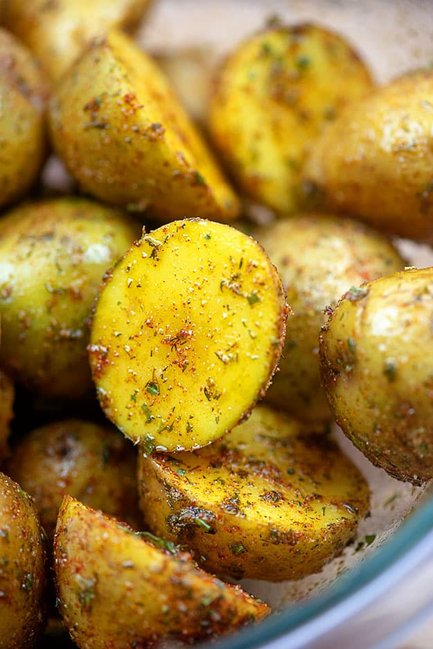Ranch Roasted Potatoes (Air Fryer or Oven!)