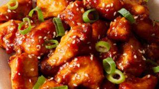 Easy General Tso's Chicken - Air Fryer