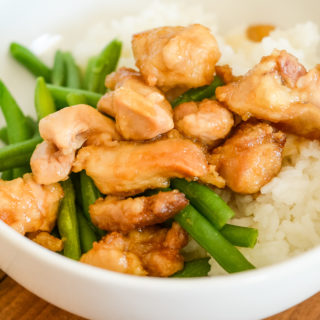 Air Fryer Mongolian Chicken (Gluten-Free)