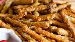 Air Fryer Seasoned Pretzels (Gluten-Free)