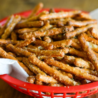 Air Fryer Seasoned Pretzels (Gluten-Free)