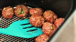 Make Easy Parmesan Meatballs in the Air Fryer
