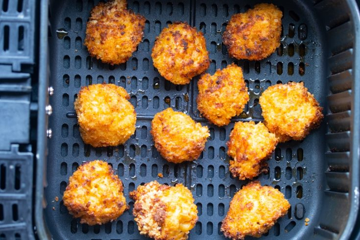Air Fried Macaroni and Cheese Balls