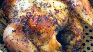 Air Fryer Whole Chicken