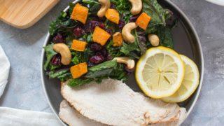 Simple Airfryer Turkey Dinner