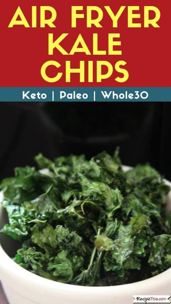 Air Fryer Kale Chips