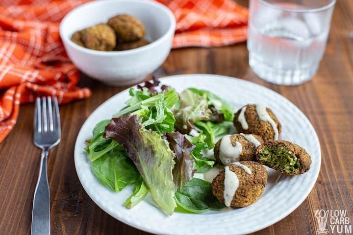Easy Keto Falafel Recipe with Paleo Ingredients