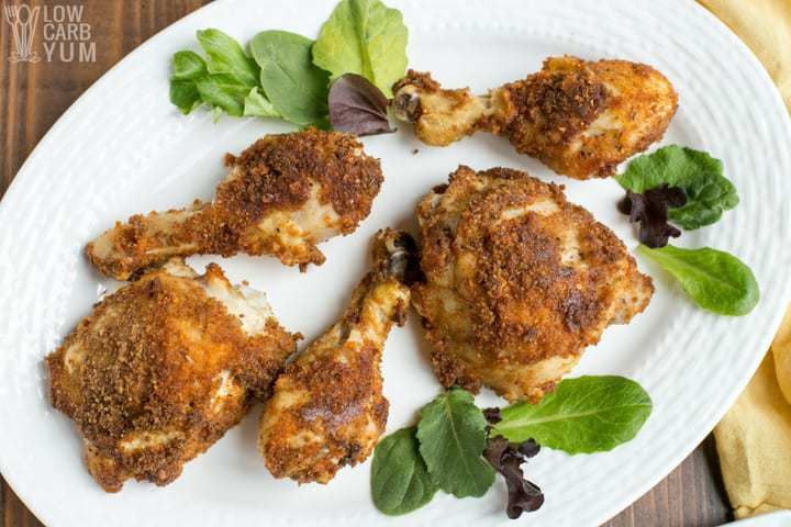 Low Carb Keto Fried Chicken in Air Fryer or Oven