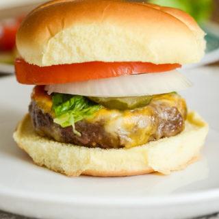 Air Fryer Onion Soup Mix Burgers