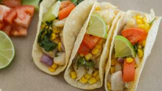 Air Fryer Fish Tacos (Gluten-Free)