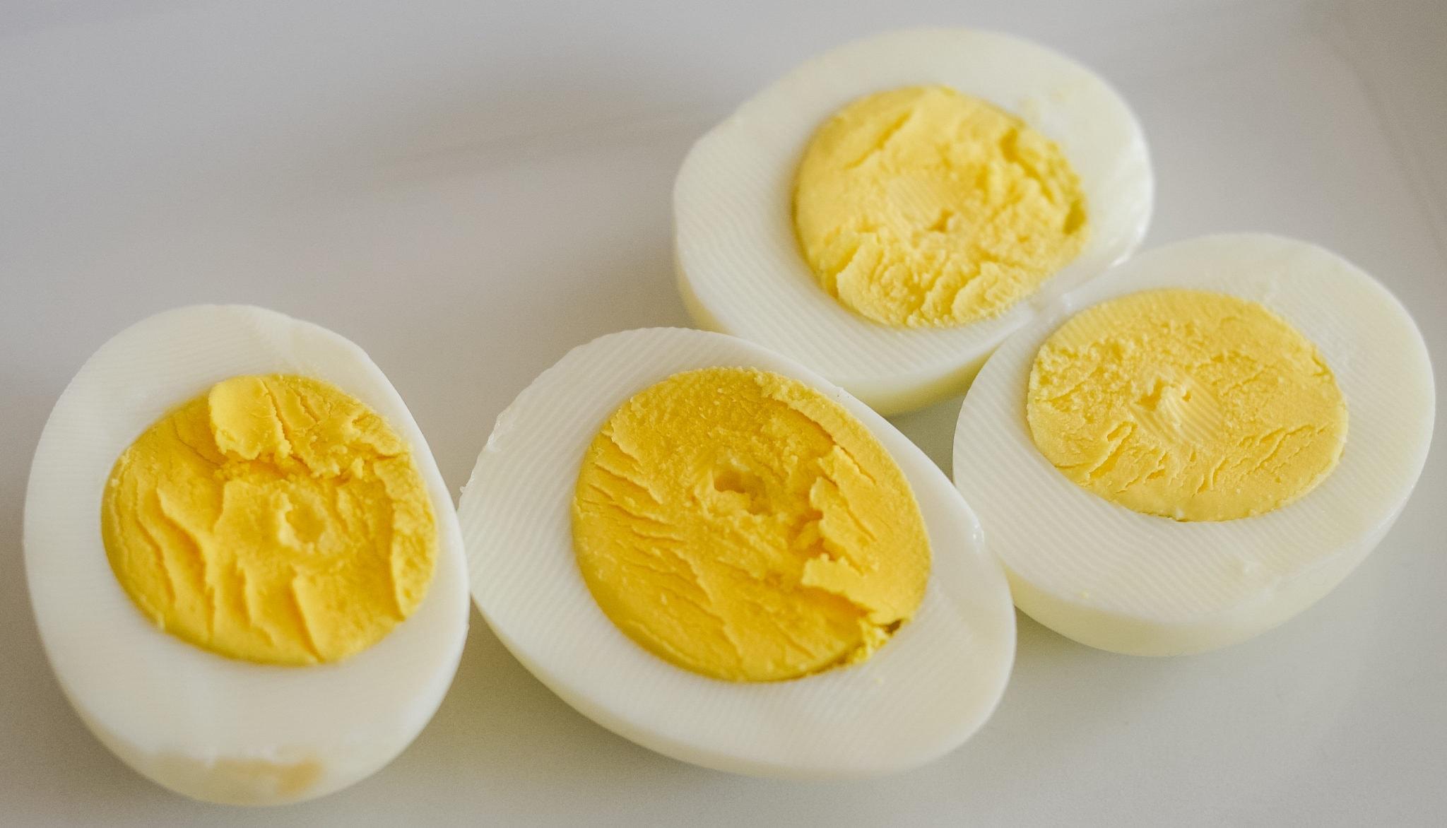 Air Fried Hard Boiled Eggs