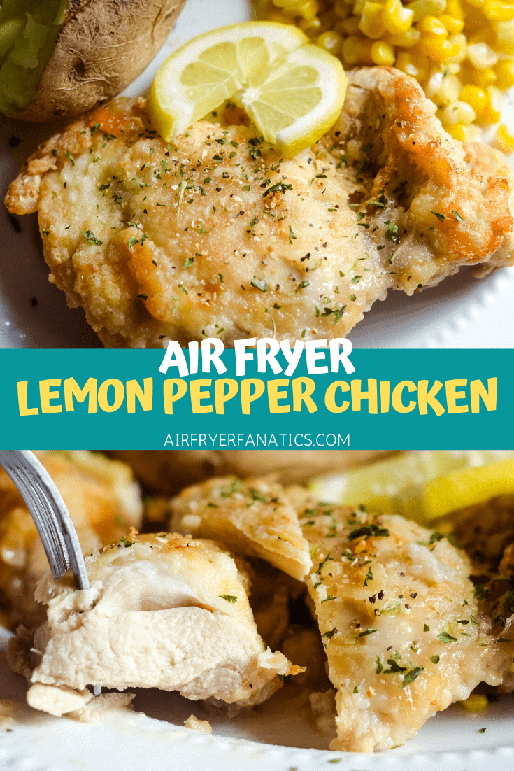 Air Fryer Lemon Pepper Fried Chicken