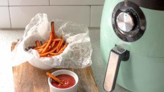 Air Fryer Carrot Fries - Air Fried, Cumin, Paprika, Salt, Pepper, Canola Oil