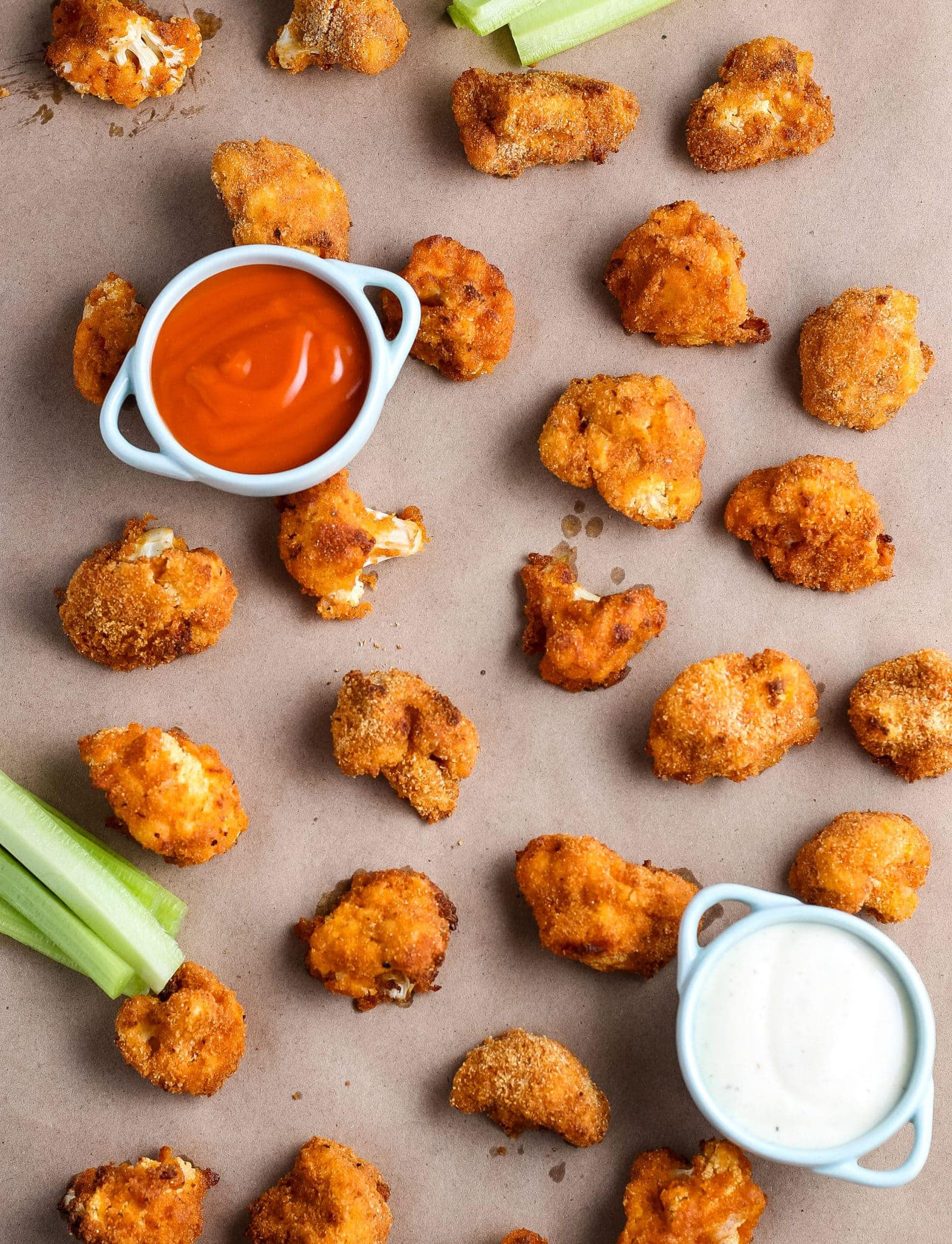 Air Fryer Cauliflower Buffalo Wings