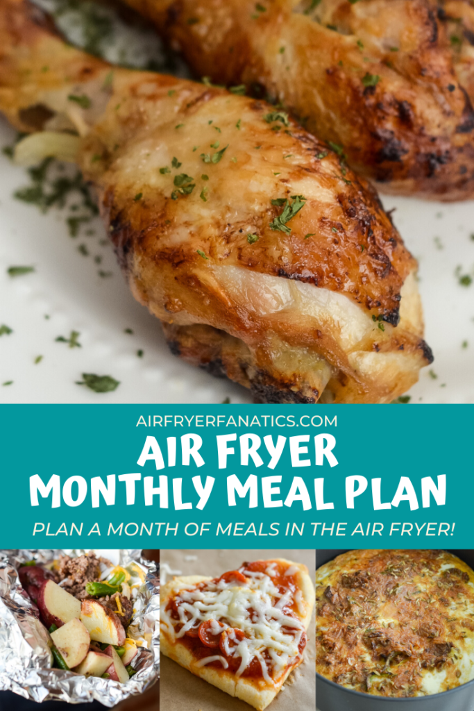 air fryer monthly meal plan