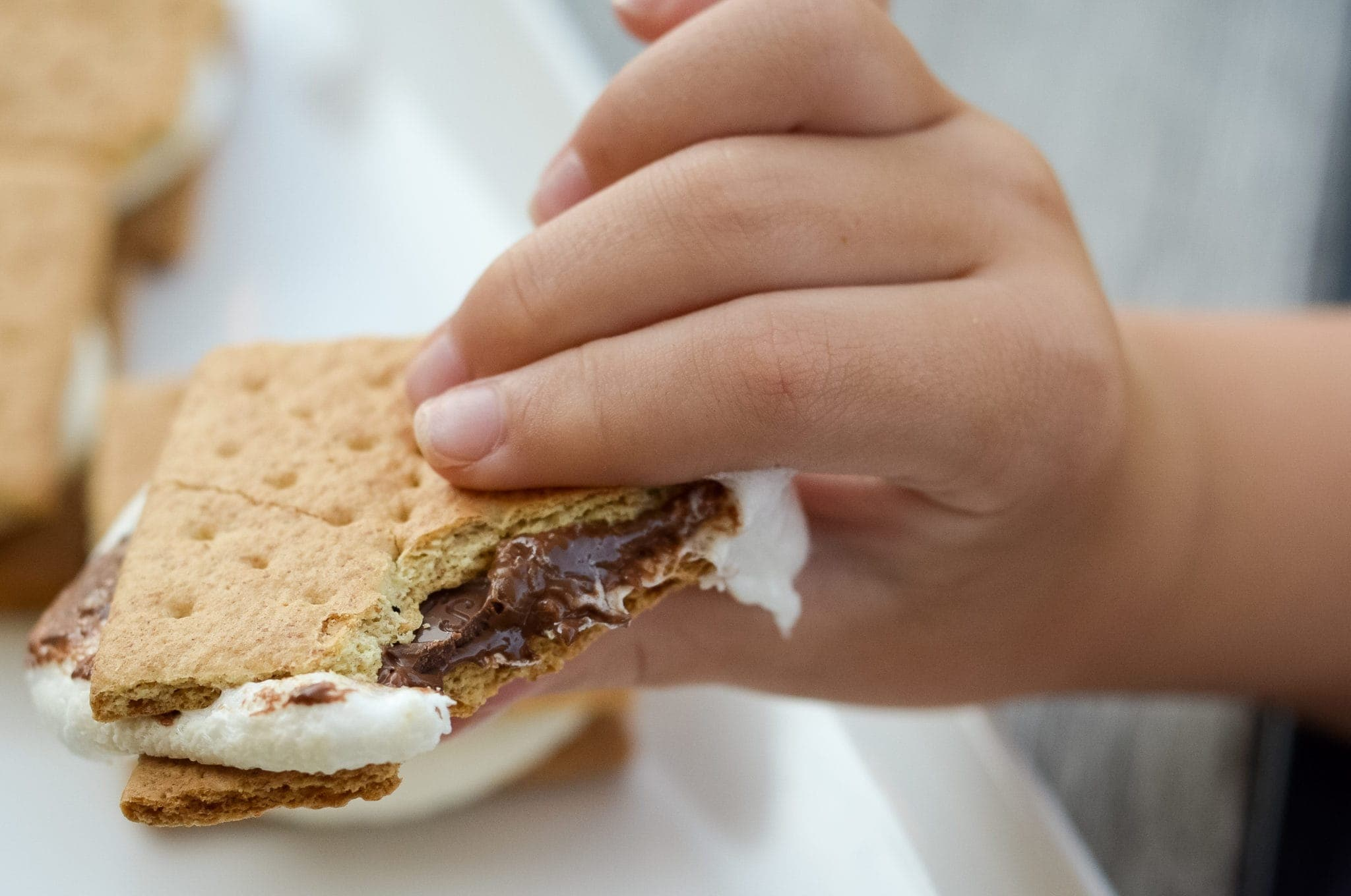 Easy Air Fryer S'mores