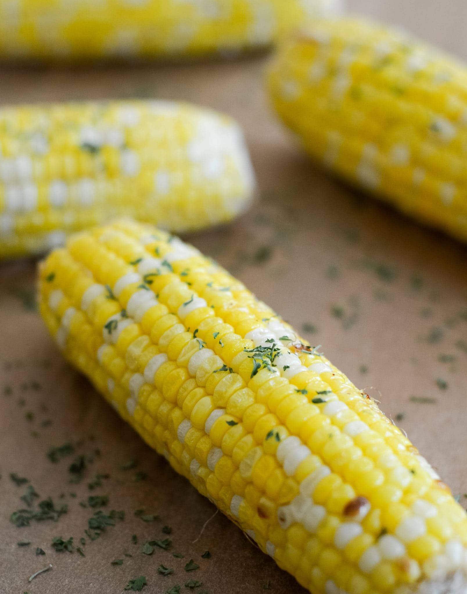 Easy Air Fryer Corn on the Cob