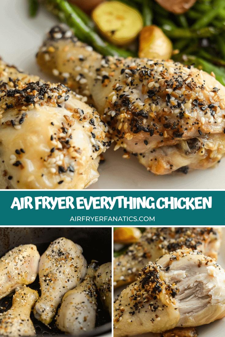 Air Fryer Everything Chicken Drumsticks