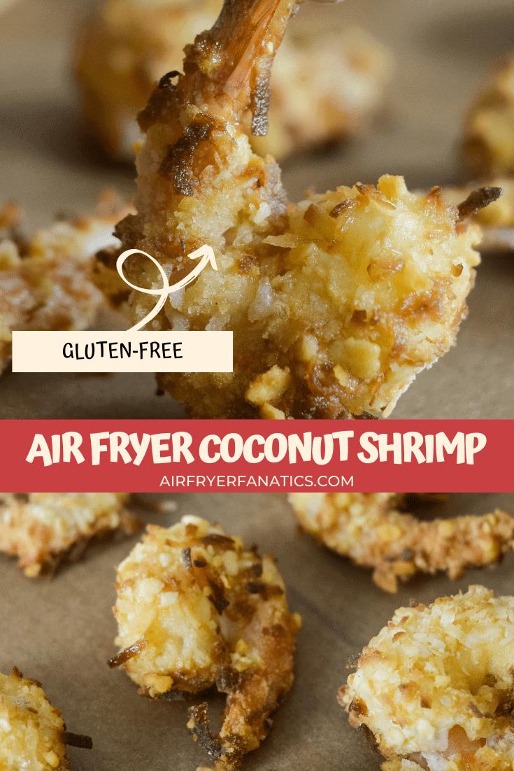 gluten-free air fryer coconut shrimp